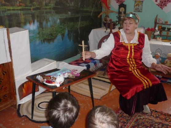 Конспект непосредственно образовательной деятельности. «Изготовление тряпичной куклы»