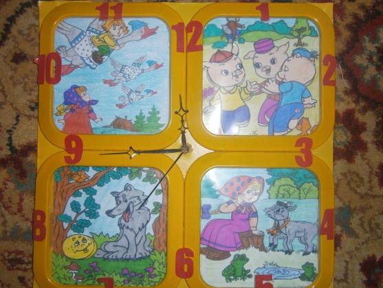 Дидактическая игра «Волшебные часики»