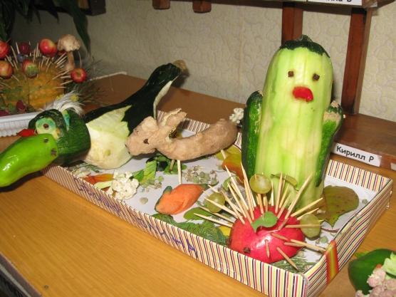 Поделки своими руками фруктов и овощей из бросового материала 85