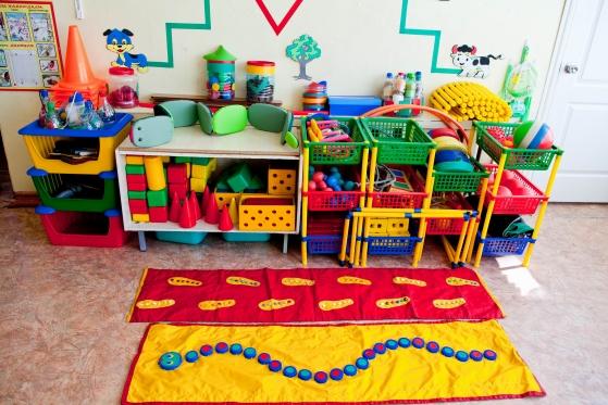 Оборудование детского сада своими руками