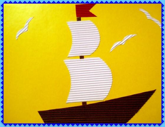 Детские поделки из картона и цветной бумаги