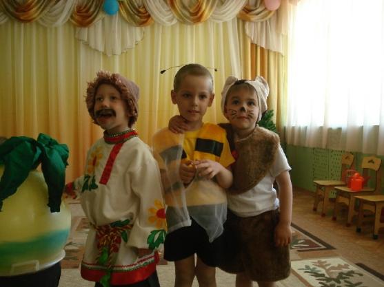 """Театрализованное представление """"Репка"""" (на новый лад). Воспитателям детских садов, школьным учителям и педагогам - Маам.ру"""