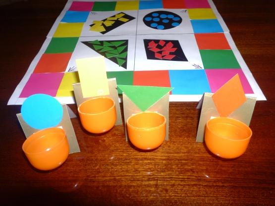 Дидактическая игра-ходилка «Цвет и форма»