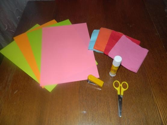 Как делать стебли для цветов из бумаги 163