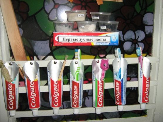 Поделки из тюбиков от зубной пасты