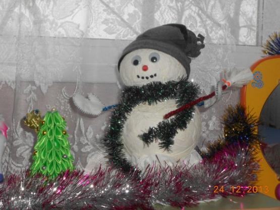 Новогодние игрушки своими руками для детского сада фото