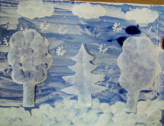 Поделки на тему Зима