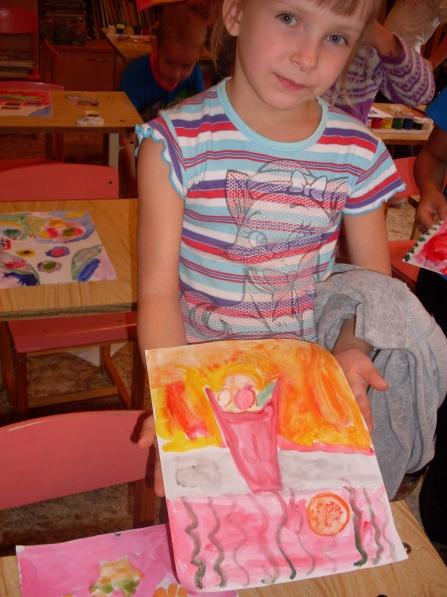 знакомство детей с композицией