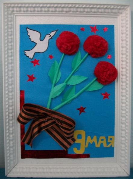 Поделки в сад к 9 маю - Поделки к 9 мая Ребенок в детском саду