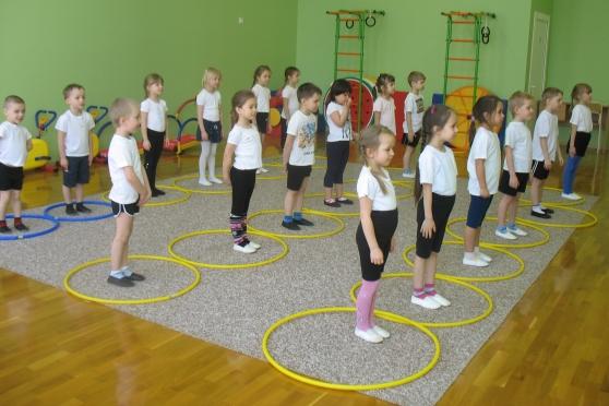 Тематическое занятие по физкультуре для детей 5-7 лет