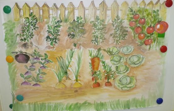 Тема сад огород средняя группа