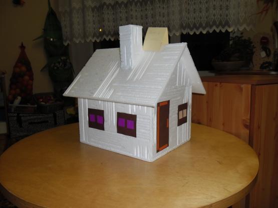 Детский макет дома из бумаги своими руками 51