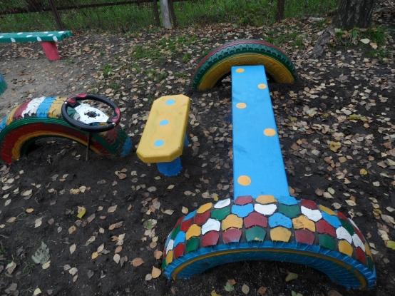 Поделки для детской площадки детского сада