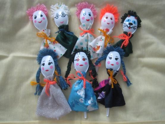 Куклы из ложки своими руками 1