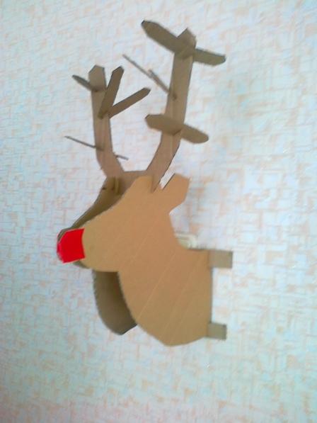 Рождественский олень мастер класс
