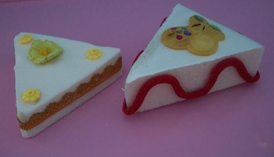 Муляж пирожного  из губки