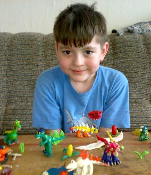 Пластилиновая эра динозавров