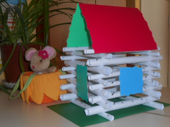 Поделка домов из бумаги