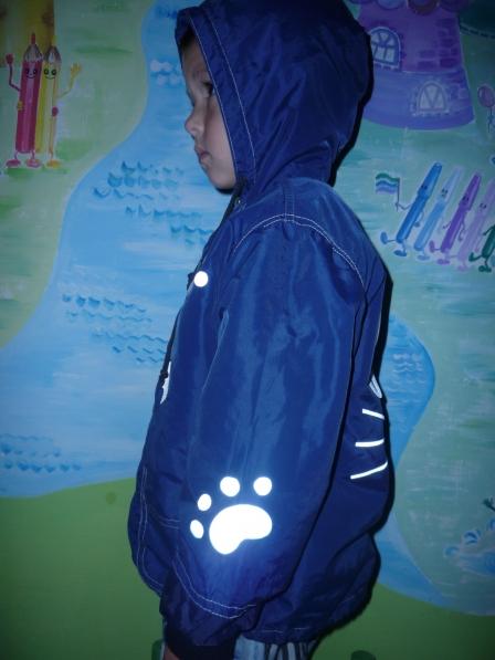Светоотражатели на куртку своими руками