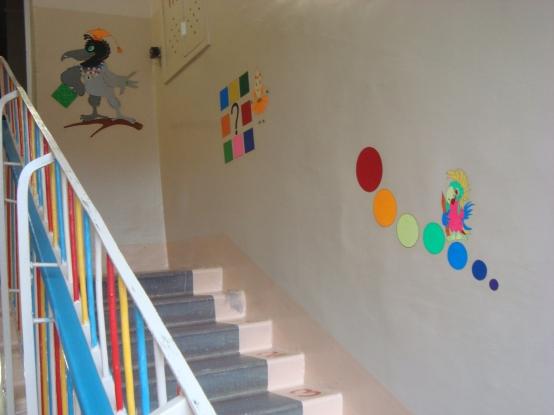 Дизайн лестниц детского сада