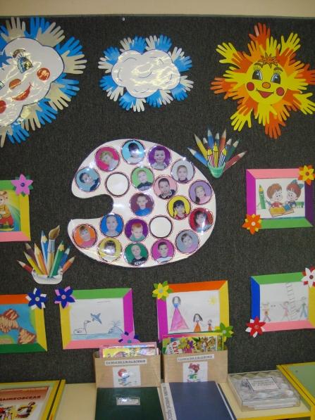Уголок изодеятельности в детском саду картинка 5
