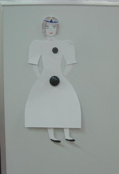 Украсим кукле платье 2 младшая группа