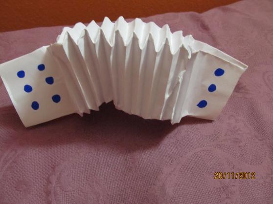 Гармошка из бумаги своими рука 324