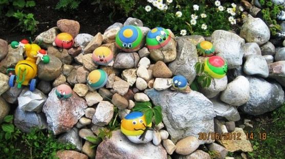Поделки в детском саду оформление детских участков своими руками фото 771