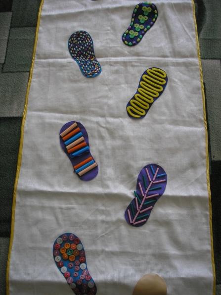Дорожки для закаливания в детском саду своими руками фото по фгос 9