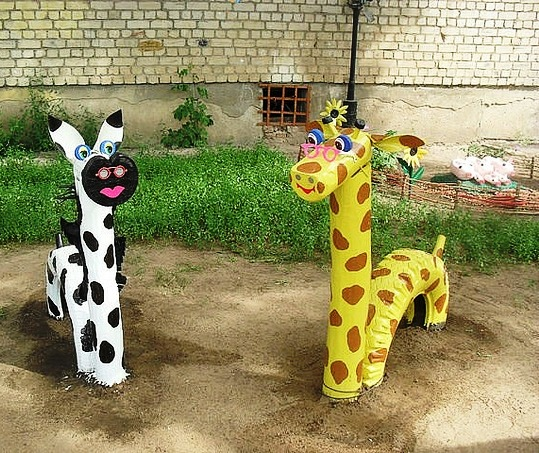 Пруд в детском саду