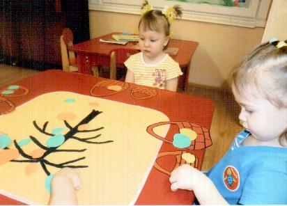 Дидактическая игра для детей раннего возраста «Прогулка в лес»