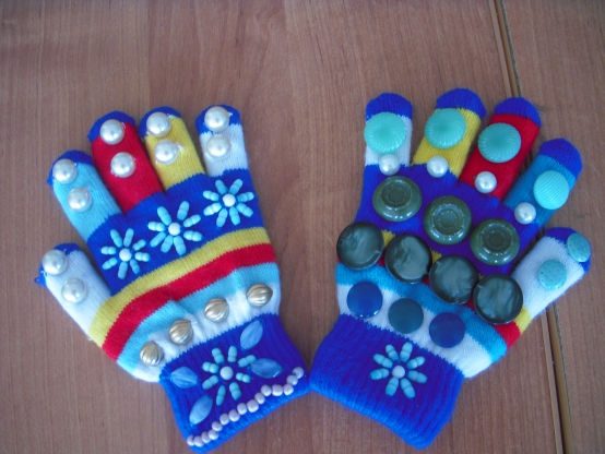 Массажные перчатки своими руками фото 664