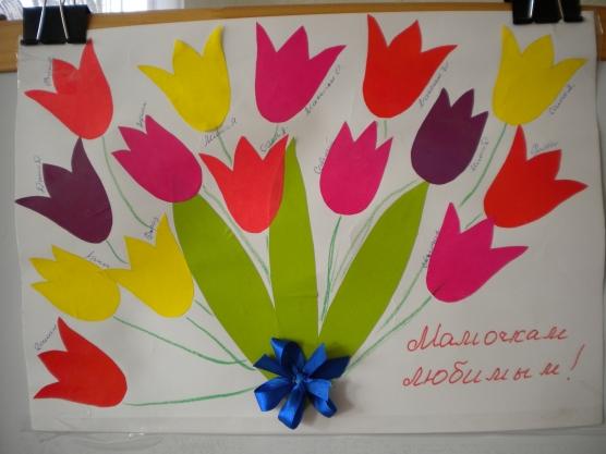Поздравляем мам с 8 марта! Детские стихи маме  Ребенок в