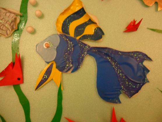 Маленьких рыбок сделали вместе с
