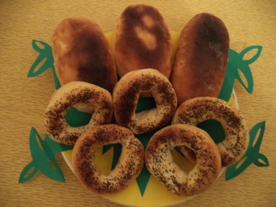 Поделка «Пирожки и бублики»