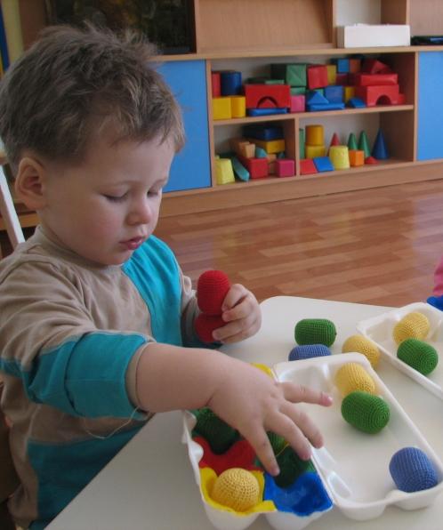 Игра по сенсорике для детей 2-3 лет своими руками