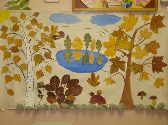 Осенняя поделка с ребенком 4 лет