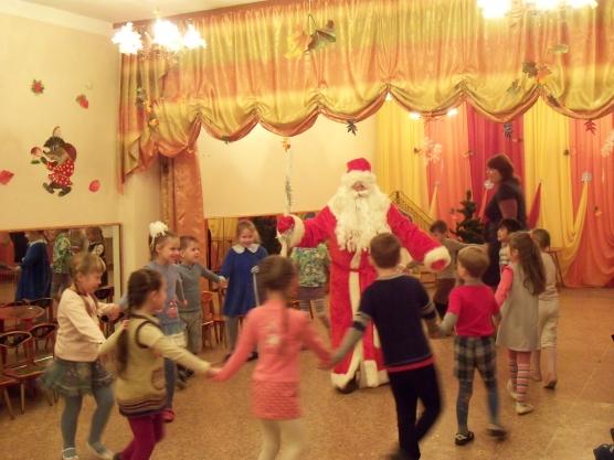 Дед мороз для малышей играть