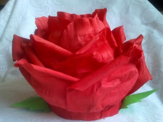 Как сделать костюм роза