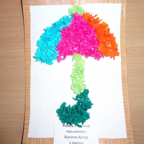 Поделки из гофрированной бумаги простые для детей