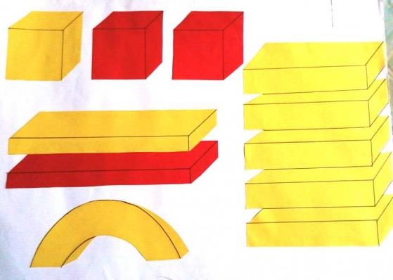 схема постройки (печки).
