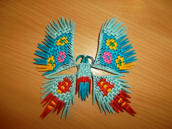 Вот такую бабочку-красавицу