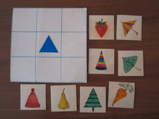 Геометрическое лото своими руками для дошкольников 22