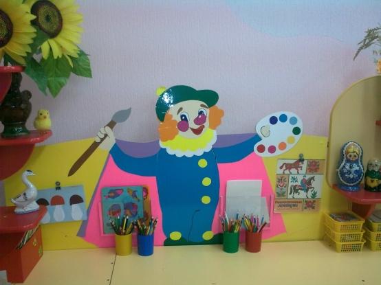 Фото уголок творчества в детском саду