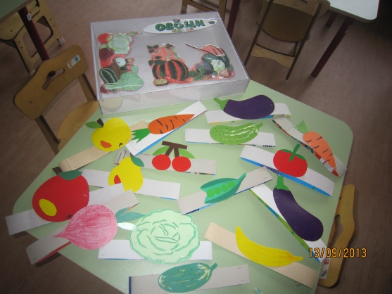 «Веселый огород»— маски-ободки для детей