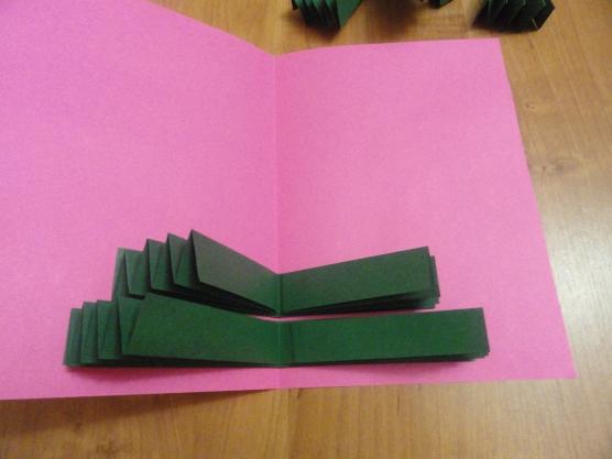 Как из бумаги сделать открытку на новый год