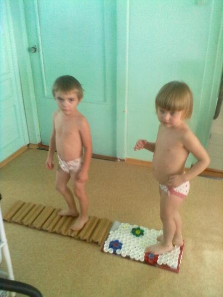 Использование босоножия в целях здоровьеформивания дошкольников