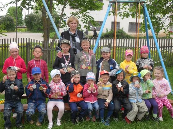 Олимпийцы в детском саду