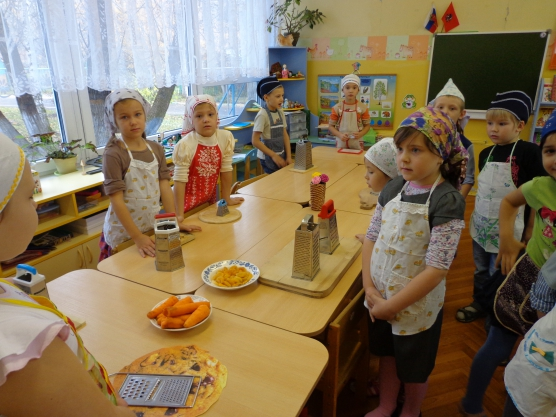 «Неделя здоровья» в детском саду. Приготовление «Витаминного салата»