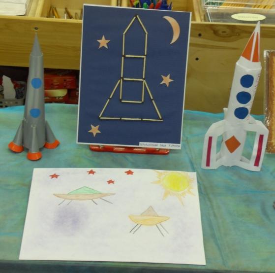 Поделки на тему космос для детского сада
